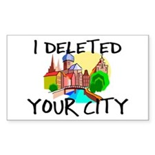 Deleted City Decal