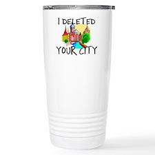 Deleted City Travel Mug