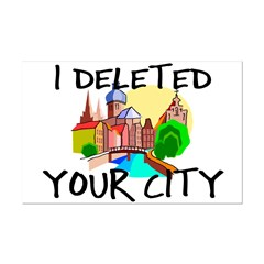 Deleted City Posters