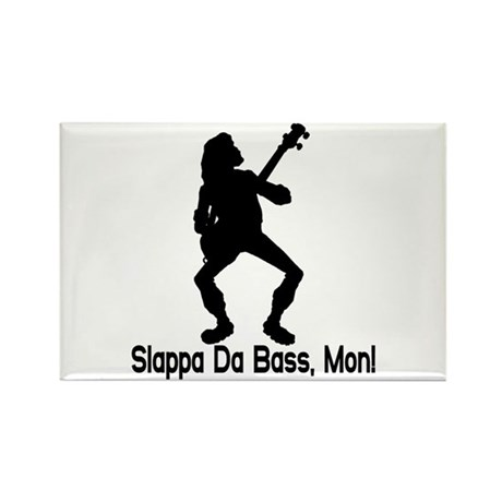 Slappa Da Bass Rectangle Magnet
