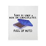 Full Of Nuts Throw Blanket