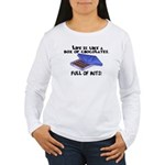 Full Of Nuts Women's Long Sleeve T-Shirt