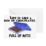 Full Of Nuts Greeting Cards (Pk of 10)