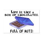 Full Of Nuts Mini Poster Print