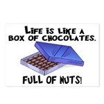 Full Of Nuts Postcards (Package of 8)