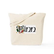 Finn Celtic Dragon Tote Bag