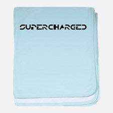 Supercharged - baby blanket