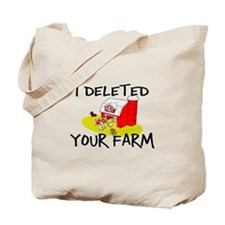 Deleted Farm Tote Bag