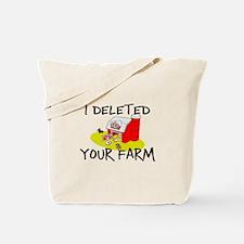 Deleted Farm Tote Bag