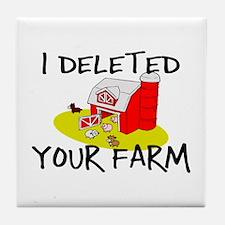 Deleted Farm Tile Coaster