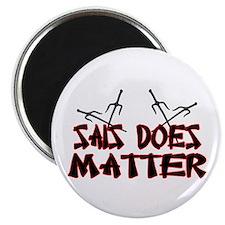 """Sais Does Matter 2.25"""" Magnet (100 pack)"""
