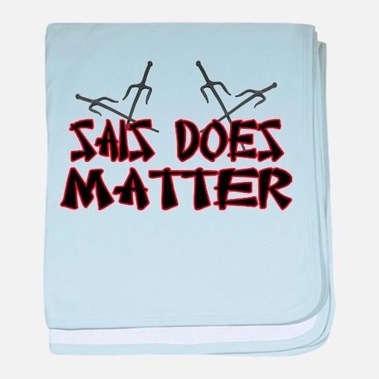 Sais Does Matter baby blanket