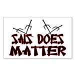 Sais Does Matter Sticker (Rectangle 50 pk)