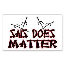 Sais Does Matter Decal