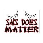 Sais Does Matter Mini Poster Print