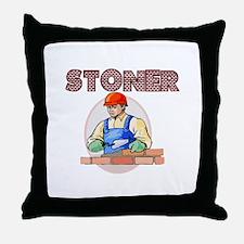 Stoner Throw Pillow