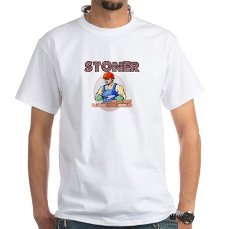 Stoner White T-Shirt