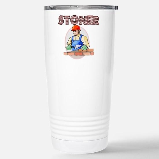 Stoner Stainless Steel Travel Mug