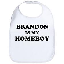 Cute Is my home boy Bib