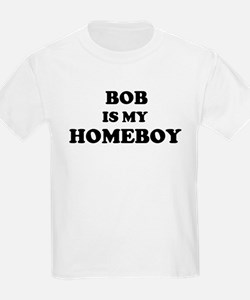 Bob Is My Homeboy Kids T-Shirt