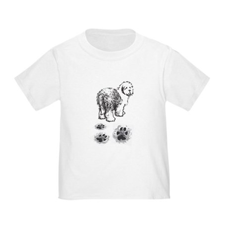Footprint Toddler T-Shirt