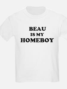 Beau Is My Homeboy Kids T-Shirt