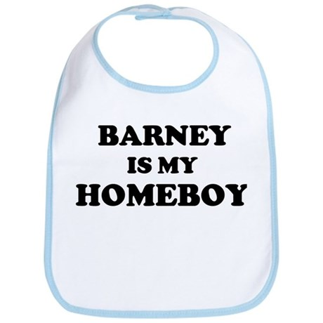 Barney Is My Homeboy Bib