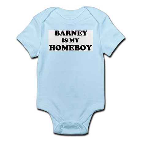 Barney Is My Homeboy Infant Creeper