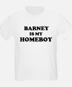 Barney Is My Homeboy Kids T-Shirt