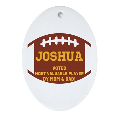 Joshua Ornament (Oval)