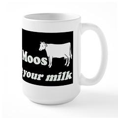 Brake for Moos Mug