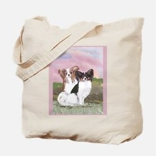 Two Papillons Tote Bag