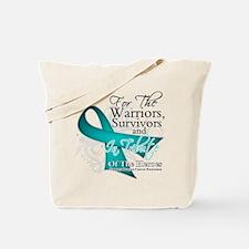 Ovarian Cancer Dedication Tote Bag