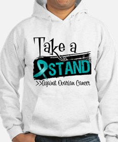 Take a Stand Ovarian Cancer Hoodie
