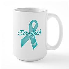 Strength - Ovarian Cancer Mug