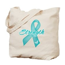 Strength - Ovarian Cancer Tote Bag