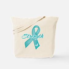 Strength - Ovarian Cancer Tote Bag