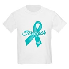 Strength - Ovarian Cancer T-Shirt
