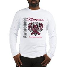 Throat Cancer AwarenessMatter Long Sleeve T-Shirt