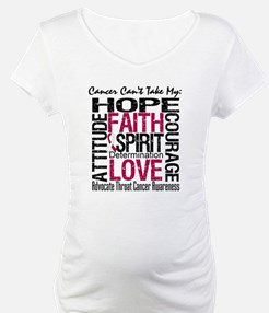 Throat Cancer Can't Take Hope Shirt