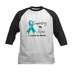 Supporting Hero Ovarian Kids Baseball Jersey
