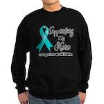 Supporting Hero Ovarian Sweatshirt (dark)