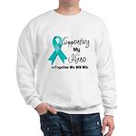 Supporting Hero Ovarian Sweatshirt