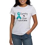 Supporting Hero Ovarian Women's T-Shirt