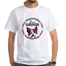 Throat Cancer I'm A Survivor Shirt