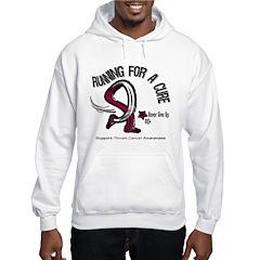 Throat Cancer RunningForACure Hoodie