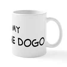 I Love Argentine Dogo Coffee Mug