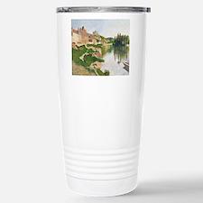Cute Post impressionist art Travel Mug