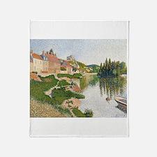 Cool Impressionist art Throw Blanket