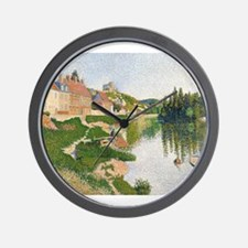 Funny Impressionist art Wall Clock